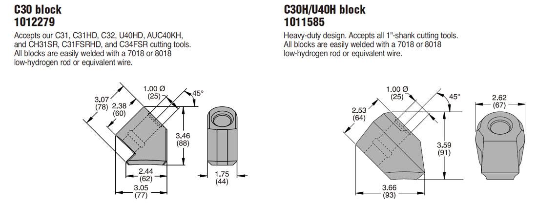 C35R Cutting Tools